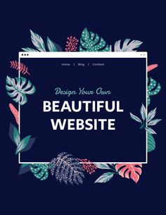 Start now with a designer-made template, customize your stunning website and get online today