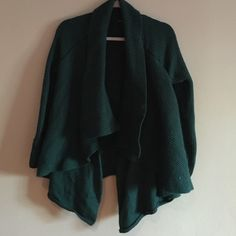 Layering sweater Great color year round and very warm! Perfect condition. Cynthia Rowley Sweaters Cardigans