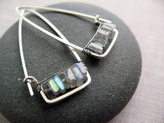 I like how Brenda McGowan incorporates beads and color into her wire wrapped jewelry designs.