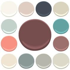 Color palettes on pinterest creature comforts color for Benjamin moore pristine