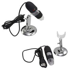 Digital USB Microscope Video Inspection Camera Magnifier 25x to 200x W/ Stand