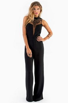 Lainie Jumpsuit ~ Definitely wanna wear something like this to a wedding one day Love Fashion, Runway Fashion, Fashion Outfits, Denim Jumpsuit, Palazzo Jumpsuit, Trousers, Outerwear Women, Jumpsuits For Women, Dress To Impress