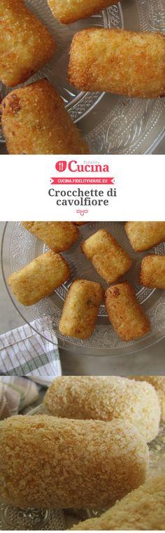 Crocchette di cavolfiore della nostra utente Francesca. Unisciti alla nostra Community ed invia le tue ricette!