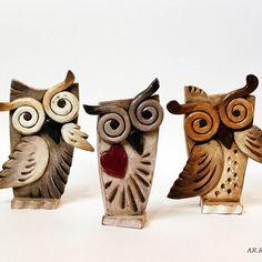 Benvenuto Ottobre  #october  #ottobre #welcomeoctober #benvenutoottobre #civetta #civette #owls #ceramica #ceramicaartistica  #ceramic