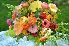 Image result for flower arranging poppies