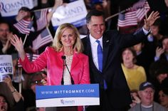 Mitt and wife.