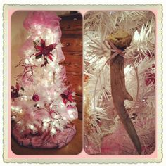 I love the antler ornament idea!