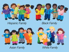 Multiethnic dolls are soft…and fully poseable!