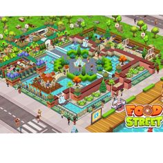 #Foodstreetgame Food Street Game, Sims House, Restaurant Design, Games, Pictures, Beautiful, Ideas, Gaming, Toys