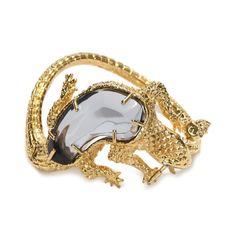 ALEXANDER MCQUEEN|Jewelry|Salamander Bracelet