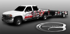 RPM Motorsports vehicle and trailer wrap by GammaBrite. www.gammabrite.com