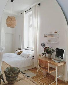 65 exclusive and new bedroom design trends 2019 13 Deco Studio, New Bedroom Design, Interior Minimalista, Home And Deco, Dream Decor, My New Room, Home Bedroom, Master Bedroom, Mirror Bedroom