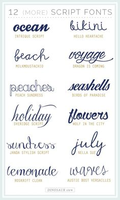Our Twelve (Free) Script Fonts post was published back in October and has become insanely popular ever since. You guys really love dem fonts! Well, your prayers have been answered: here are twelve more awesome script fonts. Best of all? Like the first twelve, these are free too (for personal use, anyway). Intrique Script | Hello Heartache | Milkmoustachio | Dragon is Coming | Peach Sundress | Birds of Paradise | Sverige Script | Wolf in the City | Janda Stylish Script | Nella Sue | Roskrift…