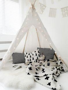 tipi #habitacion #bebe #nordica,Diseño nórdico,scandinavian nursery, ideas…