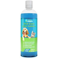 Fresh Breath Water Additive for Dogs and Cats  For Clean Teeth Healthy Gums and Oral Care  16oz >>> Read more at the affiliate link Amazon.com on image.