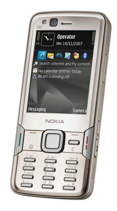 Enero 2008. N82, mi penúltimo Nokia. Me encantaba este móvil