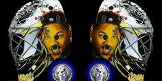 Remember the Fresh Prince??  #mask #hockey #mtl316.com #goalie Anything is possible! www.MTL316.com #goalie #goaliemask #mtl316 #helmet #nhl #custom #airbrush #sale #replica #hockey #roy #brodeur #joseph #richter #lundqvist #potvin #fleury #crawford #belfour #moog