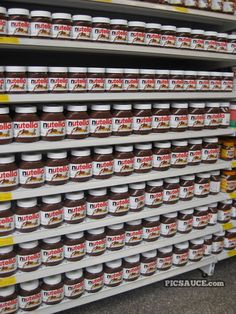 You can never have enough Nutella.