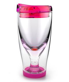 Pink Ice Vino 2 Go Tumbler