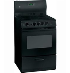 """JCAS745MBB by General Electric Canada in Winnipeg, MB - GE 24"""" Free Standing Electric Standard Clean Range Shop JS Furniture Gallery for all your appliance needs.  1725 Ellice Avnue, Winnipeg, http://furnitureandmore.ca"""