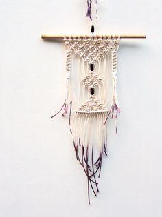 Poppy Nova handmade macrame wall hanging #macrame #modernmacrame