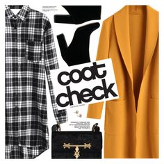 """Go Bold: Statement Coats"" by pokadoll ❤ liked on Polyvore"
