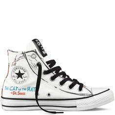 Converse - Chuck Taylor All Star Dr Seuss - Hi - White / Multi