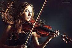 Violinist | violin, musician, redhead, girl