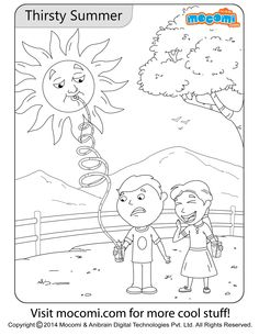thirsty summer colouring page online jojo colouring page for kids free printable coloring pages for a variety of themes that you can print out and color