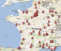 Carte Urbex – Mes spots urbex et rurbex sur Google Maps !  Plus de découvertes sur Souterrain-Lyon.com