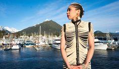 Sitka woman makes dress from 20,000 salmon bones | Juneau Empire - Alaska's Capital City Online Newspaper