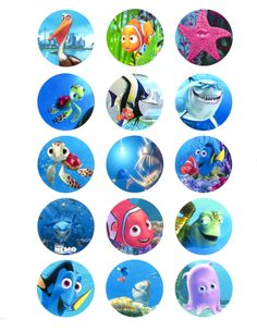 FINDING NEMO - 15 PIECES - $18.00
