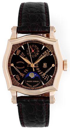 Roger Dubuis Sympathie Bi-Retrograde Perpetual Calendar  Rose Gold Men's Watch S37 5772 5 (S3757725)