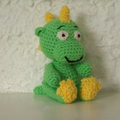BABY DRAGON - will link to free pattern