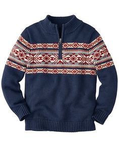 And Snow It Goes Sweater from #HannaAndersson.