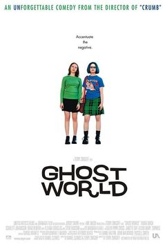 Ghost World (2001) Scarlett Johansson and Thora Birch are small town weirdoes who have just graduated from high school in this adaptation of the graphic novel by Daniel Clowes. What starts off as a prank on a local lonely dude named Seymour (Steve Buscemi) ends up changing their friendship forever. Bonus: Enid (Birch) has the coolest outfits and resting bitch face ever.   #refinery29 http://www.refinery29.com/2015/02/82017/single-valentines-day-movies#slide-15