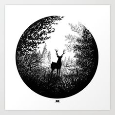 Pen and Ink Illustration art prints by RORO available on Society6 #art #home #illustration #gift