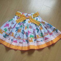 Pretty little girl's skirt.