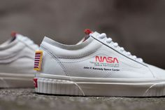 Buy and sell authentic Vans Old Skool NASA Space Voyager True White shoes (EU) and thousands of other Vans sneakers with price data and release dates. Custom Sneakers, Custom Shoes, White Sneakers, Sneakers Nike, Vintage Sneakers, Girls Sneakers, Women's Shoes, Hype Shoes, Shoe Boots