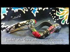 ▶ Barbed wire Cane tutorial by Minna Heikkilä - YouTube