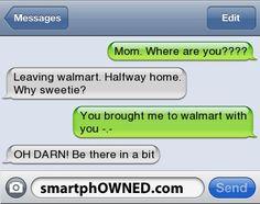 Mom FAIL!