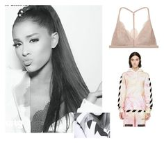 """""""-Cleveland-"""" by aglookbook ❤ liked on Polyvore featuring Victoria's Secret and Off-White"""