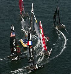Attend an America's Cup race and go to the parties.