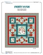 Frosty n' Fun by Heidi Pridemore. Free pattern from Marcus Brothers Fabrics.
