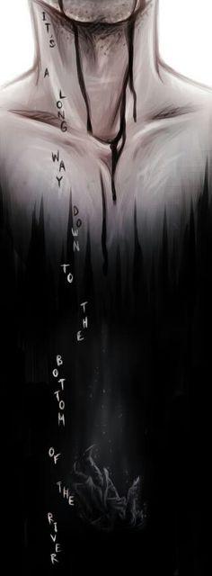 Supernatural - Bottom of the River by *Kumagorochan on deviantART Castiel and the leviathan Supernatural Fan Art, Art Anime, Image Manga, Illustrations, Destiel, Superwholock, Dark Art, Cool Art, Sketches