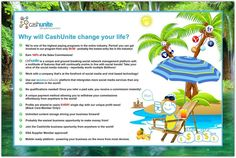 CashUnite And Multi Social Suite Will Change Your Life - CashUnite Sign Up