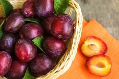 Plums are a natural source of calcium, magnesium and potassium, have plenty of fiber, vitamin A, vitamin C and vitamin E.
