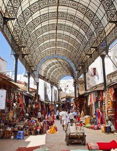 Market in Rabat- morocco