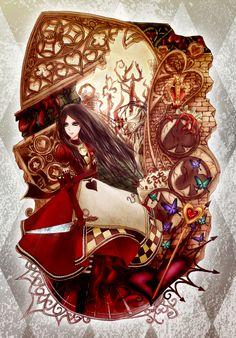 Alice: Into the queens castle by ericajc.deviantart.com on @deviantART