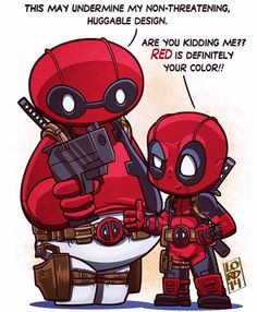 Baymax Deadpool